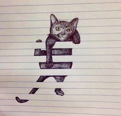 Cat on We Heart It.