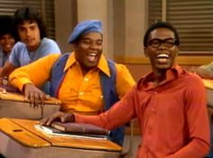 what's happening tv show   ... Raj moments before being booted from class.'What's Happening,' 1976
