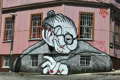 Street art in Chile. Chile, The Past, Pictures, Fictional Characters, Image, Art Ideas, College, Posters, Travel