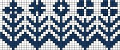 Bilderesultat for gamle strikkeoppskrifter dale Cross Stitch Borders, Cross Stitch Flowers, Cross Stitching, Cross Stitch Embroidery, Cross Stitch Patterns, Knitting Charts, Loom Knitting, Knitting Patterns, Fair Isle Chart