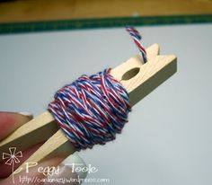 Ribbon Carousel Blog: Storage Ideas for Baker's Twine