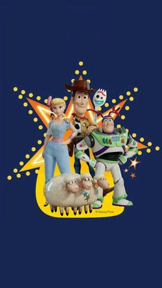 Toy Story 4 Poster Collection: High Quality Posters For All The Toy Story Fans Jessie Toy Story, Toy Story 3, Bo Peep Toy Story, Toy Story Party, Cumple Toy Story, Festa Toy Story, Disney Infinity, Movie Wallpapers, Cute Wallpapers