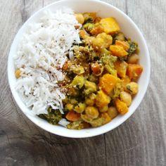 Chickpea and Pumpkin Curry – Vegan, Gluten-Free