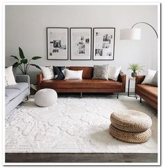 67 inspirational modern living room decor ideas for small apartment you will lik… - All About Decoration Interior Design Living Room Warm, Elegant Living Room, Living Room On A Budget, Beautiful Living Rooms, Living Room Colors, Living Room Grey, Living Room Sofa, Living Room Designs, Modern Living