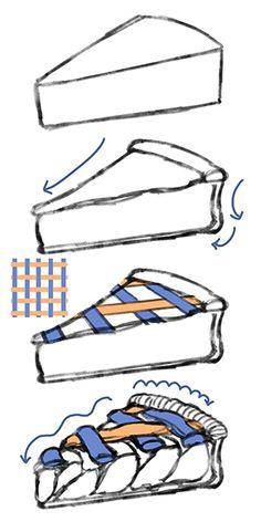 材料や製法から考える!スイーツの描き方 ~パイ・ゼリー・ケーキ~|イラストの描き方 パイ生地のスイーツ 3/6 Drawing Sweets Based on Ingredients and Recipes: Pie, Jelly, Cake | Illustration Tutorial Digital Painting Tutorials, Digital Art Tutorial, Art Tutorials, Illustrator Tutorials, Cake Drawing, Food Drawing, Sweet Drawings, Doodle Drawings, Cake Illustration