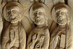 Relieve del claustro del Monasterio de Silos. Siglo X Burgos