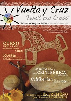 Vuelta y Cruz Nº7: Revista de bolillos / Twist and Cross N.7: Bobbin lace magazine (11€)