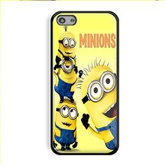 Despicable Me Minions Movie for Iphone and Samsung Galaxy Case (iPhone 5/5s black)