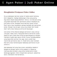 http://agen.poker-88.com/ - agen poker, Come have a quick look at the website. https://www.facebook.com/bestfiver/posts/1444301009116203