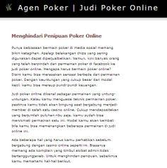 http://agen.poker-88.com/ - agen poker, Come have a quick look at the website. https://www.facebook.com/bestfiver/posts/1444301009116203