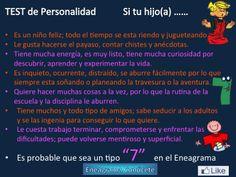 Personalidad Tipo 7 del Eneagrama