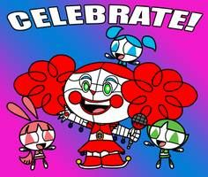Welcome to Circus Princess' Pizza World, where family fun and interactivity go beyond anything you've seen at those *other* pizza places! Sister Location, Powerpuff Girls, Fnaf, Sisters, Death, Deviantart, Princess, Anime, Fictional Characters