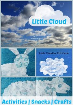 Little Cloud: 31 Days of Read-Alouds including lots of extension activities, crafts, and recipes to go along with the story! | The Happy Housewife