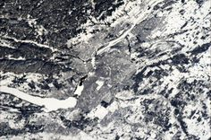 Ottawa in Snow - how it looked today from ISS - 30 Dec at 12:40.