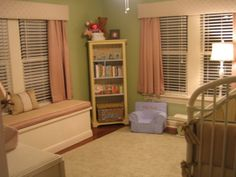 calming colors for baby nursery | Vintage Calm Baby, This room was created to be a very calm and ...