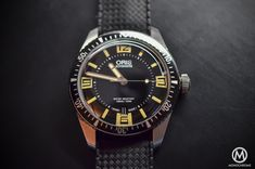 Oris Divers Sixty Five - new 2015 model...straight from the 60-s. Looks they do not even redesign them anymore...:)