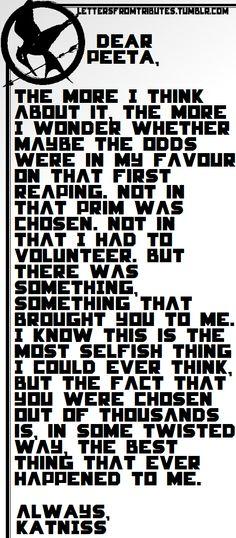 Dear Peeta,