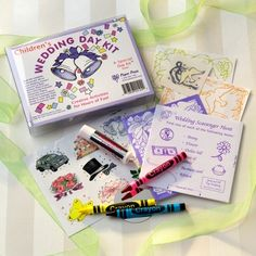 Wedding Day activity kit for the little guests..