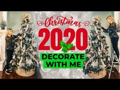 Christmas Tree Decorating 2020 - Easy Step by Step (No Skill Required!) - YouTube Christmas Planning, Christmas Tree Themes, Christmas Holidays, Christmas Ideas, Christmas Dishes, All Things Christmas, Simple Web Design, Farmhouse Christmas Decor, Farmhouse Decor