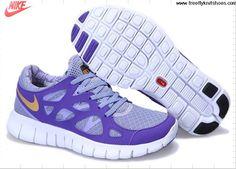 Fashion Womens Nike Free Run 2 Light Thistle Metallic Pure Purple Shoes Shoes Store
