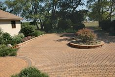 ECO Paver driveway in Harvest Blend by EP Henry