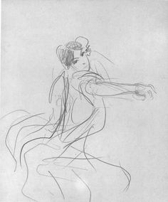 John Singer Sargent's Two Studies for El Jaleo