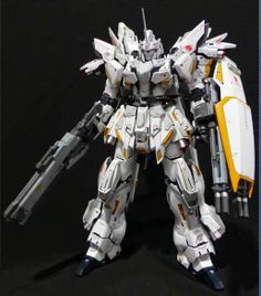 "MG 1/100 Sinanju ""Pegasus"" Custom Build - Gundam Kits Collection News and Reviews"