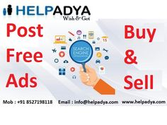 Help Adya provide tips for posting effective ad to sale property in India  Help Adya, a free classified ad posting website in Delhi, India, offers buying and selling opportunities for an extensive variety of products and services. From mobile, cars, real estate, jobs, pets and much more, it serves as a perfect online platform for selling almost everything in India. In real estate category, it offers several features that enable users to search their dream property.