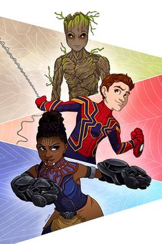 Team Teens - Michele Sciuto- Too bad none of them ever meet in Infinity War :( <<< I agree 😔 Marvel Memes, Marvel Dc Comics, Marvel Avengers, Johnlock, Destiel, Fanart, Marvel Fan Art, Avengers Infinity War, Comic Character
