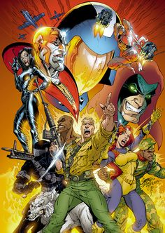 G.I. Joe by J. Scott Campbell