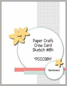 PCCCS #184: Card Sketch