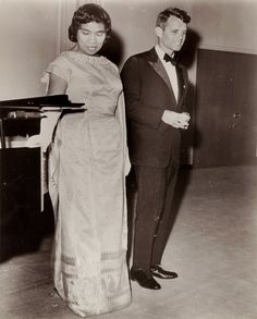 Marian Anderson, Robert Kennedy March 22, 1962