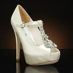 Exceptional DAVID TUTERA FANTASY Wedding Shoes And FANTASY Dyeable Bridal Shoes WHITE,  IVORY: