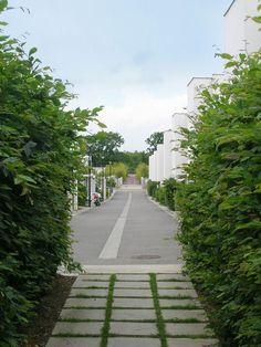 Atelier de paysages Bruel Delmar - Quartier de la Morinais - Les cœurs d'îlot Citadines  COOP Habitat - CITA architectes