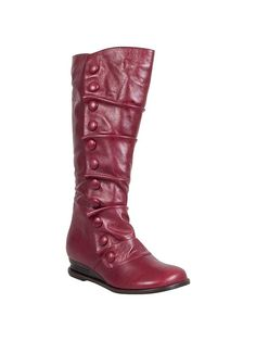 NOW MINE! The SEXIEST RED BOOTS Ever -Amazon $134 (Reg $200)  Fit Perfectly All Leather - A trendy take a Prairie look - In love and on a shoe high  :)
