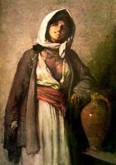 Gypsy by Nicolae Grigorescu, Romanian painter. Gypsy Life, Gypsy Soul, Romanian Gypsy, Romanian Flag, Ariana Grande Drawings, Gypsy Warrior, Portraits, Art Oil, New Art