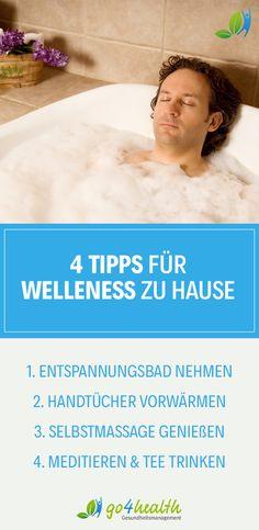Es muss nicht gleich ein teurer Wellness-Urlaub sein: Mit unseren Tipps für Wellness zuhause werden deine eigenen vier Wände zur Oase der Ruhe.
