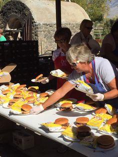 Mackay, Idaho Annual Free Barbecue in September.