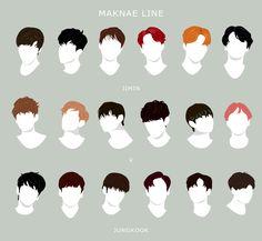 "hobiheartu: "" ""Memorable BTS hairstyles through the eras - (2013 - 2016) x "" """