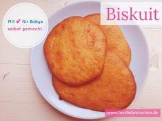 🍪 Löffelbiskuit ist ein Klassiker als Keks für Babys sehr beliebt. Die selbstgemachte zuckerfreie Variante ist schnell gemacht und gut verträglich 💕