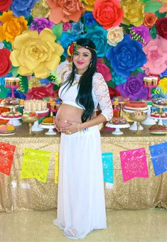 Colorful Mexican Themed Baby Shower with Lots of Really Fun Ideas via Kara's Party Ideas! Full of decorating tips, desserts, cupcakes, cakes, recipes, favors,games, and MORE! #mexicanfiesta #latinparty #fiesta #colorfulfiesta #partyideas #partydecor #eventstyling #partystyling (3)