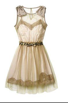 Sweetheart Peachy Pink Ballerina Slip Dress Tulle Overlay With Bows Vintage Boho Hipster Summer Flirty  - $58