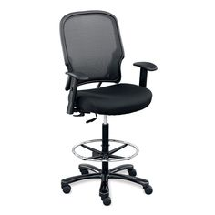 Plastic Armless Task Chair With Platinum Metallic Frame Business Plastic And Chairs