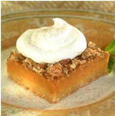 Pecan Pumpkin Pie Squares Prep: 10 mins Cooking:... | Walmart
