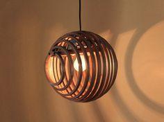 Wood Pendant Light Edison Chandelier Rustic by TanujArora Modern Hanging Lights, Modern Lighting, Lighting Design, Lighting Ideas, Wood Desk Lamp, Wood Lamps, Laser Cut Lamps, Rustic Chandelier, Edison Chandelier