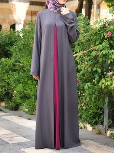The Elegant Abaya – Hijab Fashion 2020 Pakistani Fashion Party Wear, Abaya Fashion, Fashion Dresses, Islamic Fashion, Muslim Fashion, Abaya Designs, Islamic Clothing, Hijab Dress, Curvy Girl Fashion