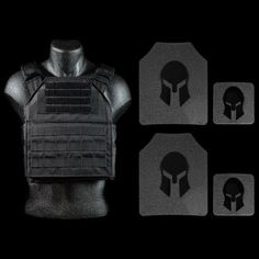 AR500 Body Armor and Spartan Plate Carrier Package *SPECIAL save $80.00