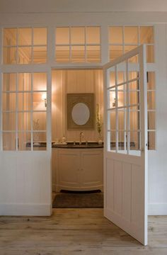 Wickes Newland Internal French Doors Pine Glazed 8 Lite