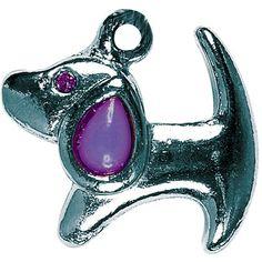 Pingente Basset Roxo São Pet - MeuAmigoPet.com.br #petshop #cachorro #cão #meuamigopet