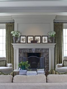 Entertainment Wall Units With Fireplace Design, Pictures, Remodel, Decor and Ideas - page 13